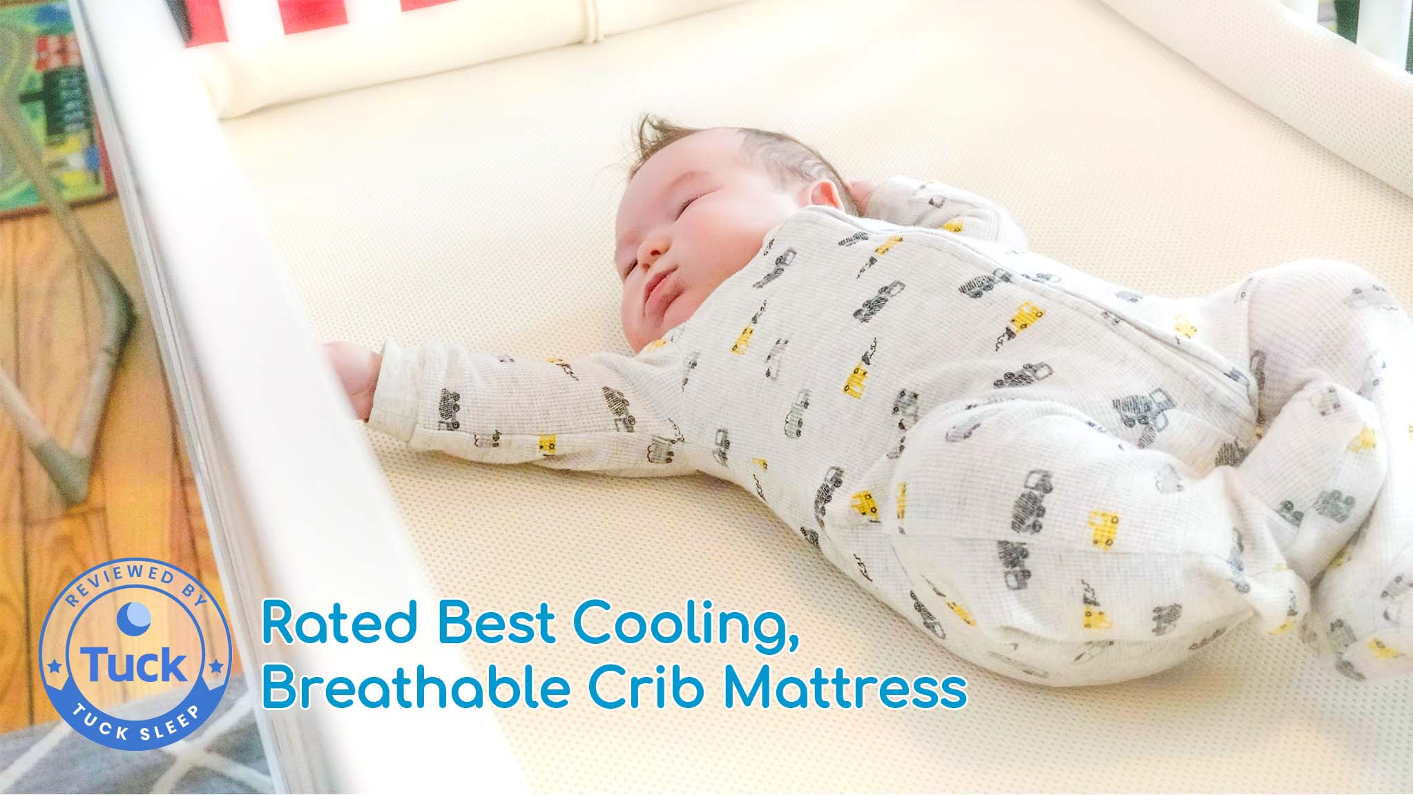 Rated Best Cooling, Breathable Crib Mattress